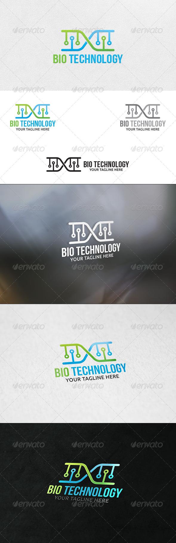 Bio Technology - Logo Template - Symbols Logo Templates