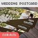 Wedding Invitation Post Card - GraphicRiver Item for Sale
