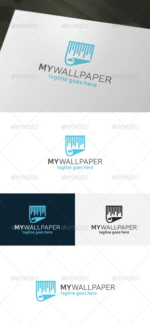 My Wallpaper Logo - Vector Abstract