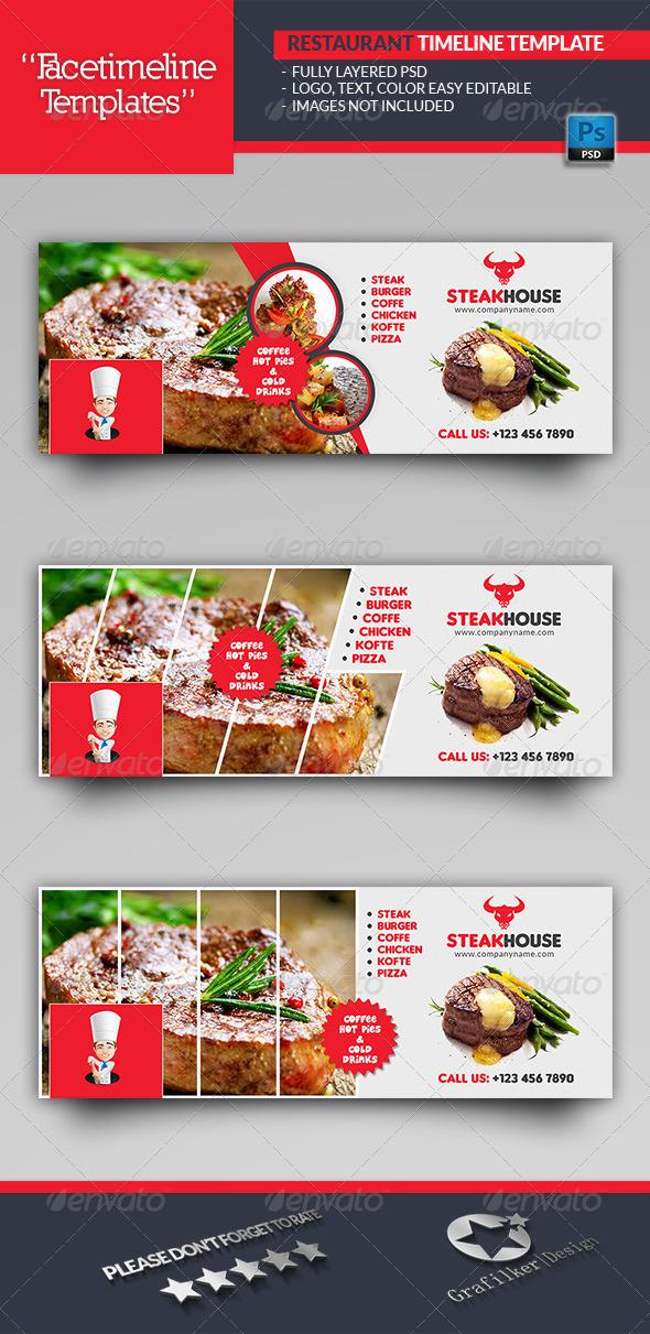 Restaurant Timeline Templates - Facebook Timeline Covers Social Media