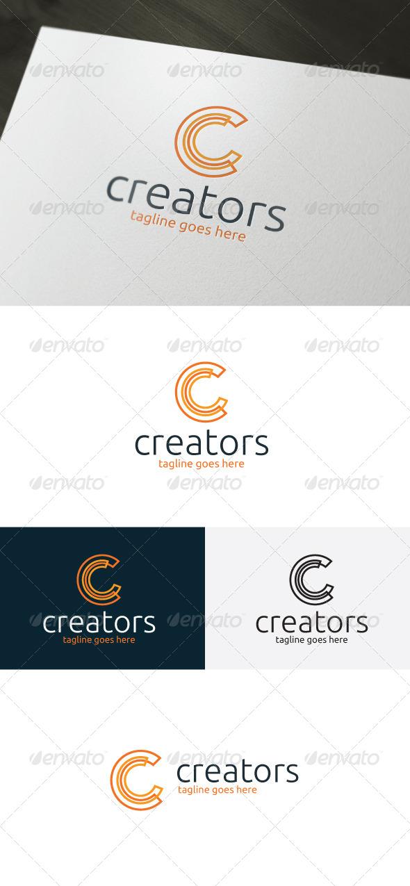 Creators Logo — Letter C - Letters Logo Templates