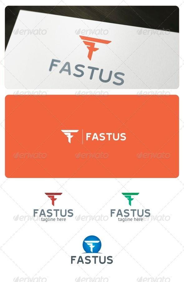 Fastus Logo Template - Letters Logo Templates