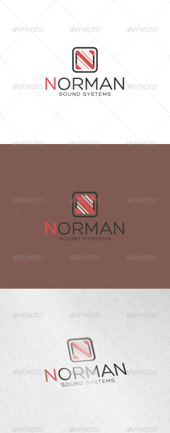 Norman Logo - Letters Logo Templates