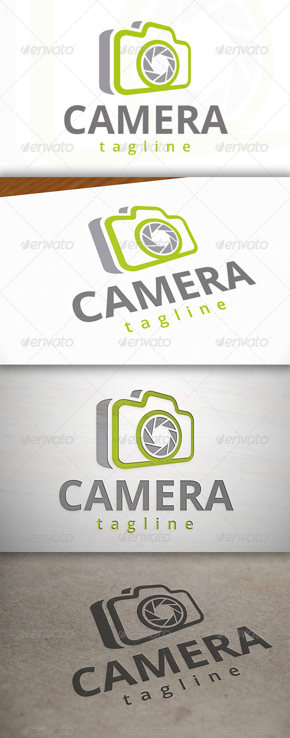 Photography Logo Template - Objects Logo Templates