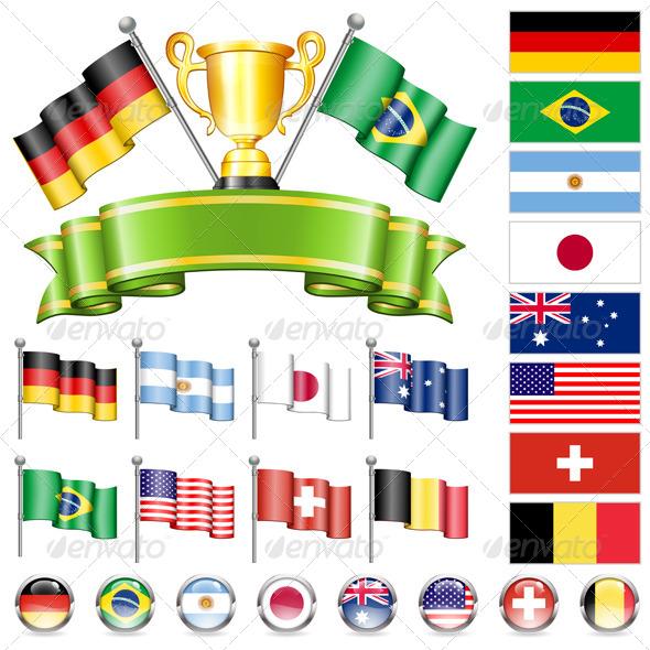 Soccer Championship - Sports/Activity Conceptual