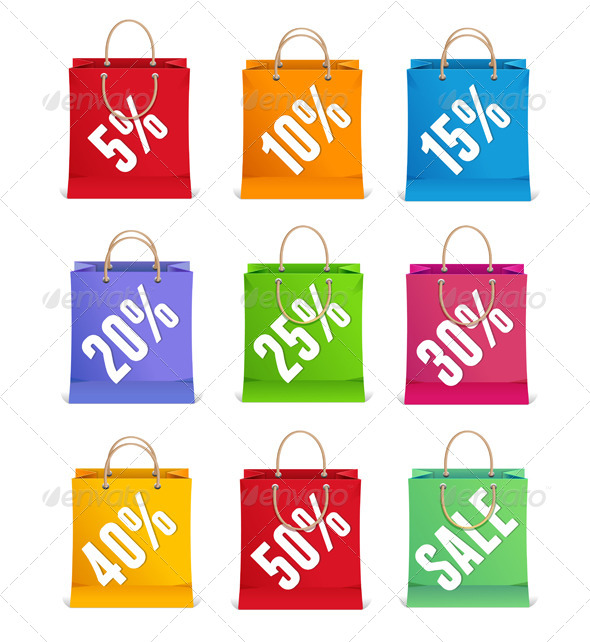 Sale Shopping Bags - Commercial / Shopping Conceptual