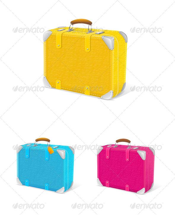 Travel Suitcase - Travel Conceptual