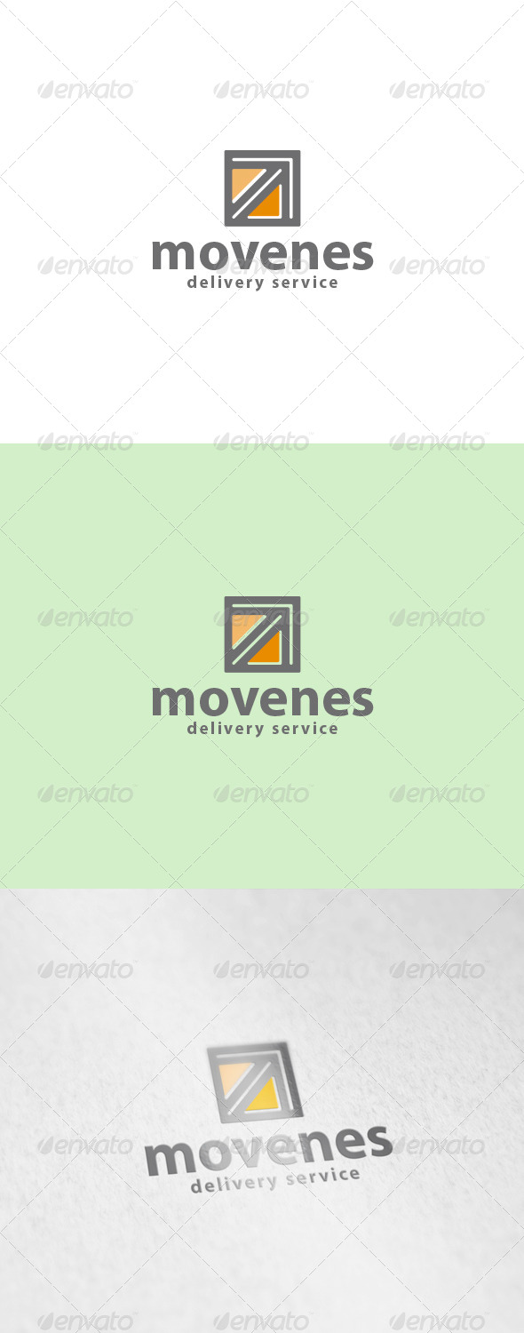 Movenes Logo - Abstract Logo Templates