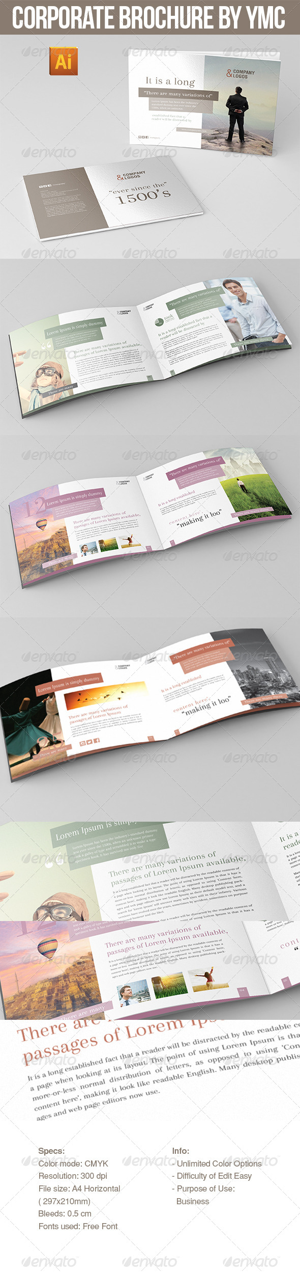 Corporate Brochure By NYC - Catalogs Brochures