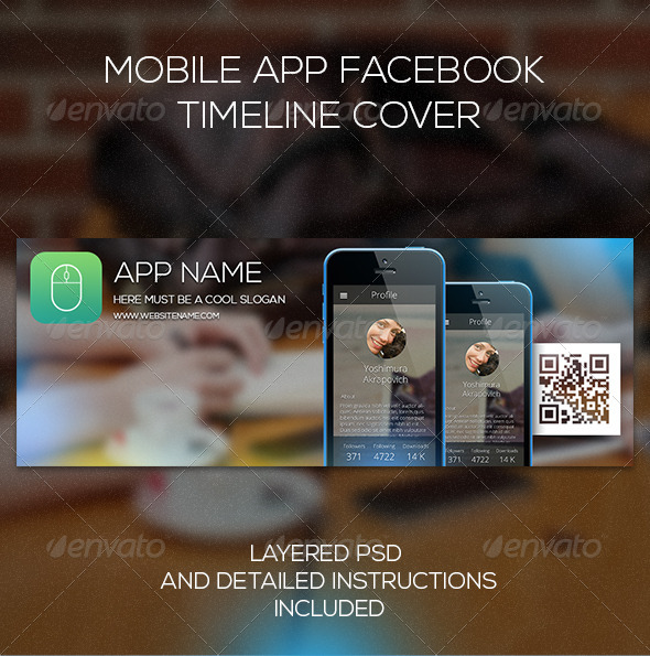 Mobile App Facebook  Timeline Cover - Facebook Timeline Covers Social Media