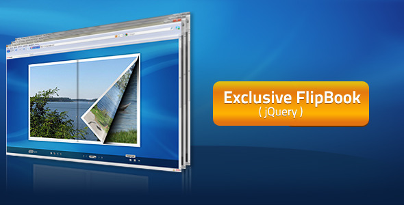 Exclusive FlipBook jQuery Plugin - CodeCanyon Item for Sale