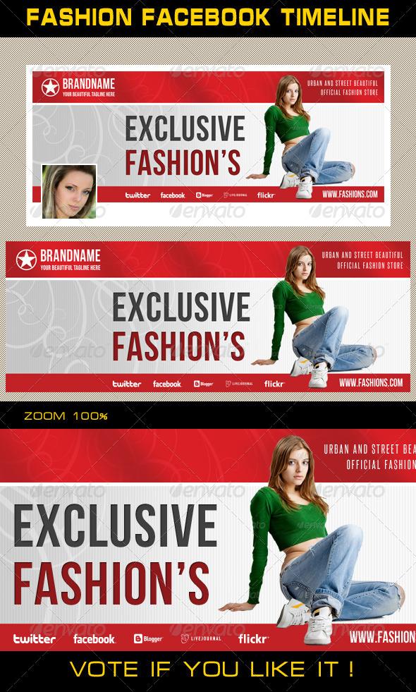Fashion Facebook Timeline 08 - Facebook Timeline Covers Social Media