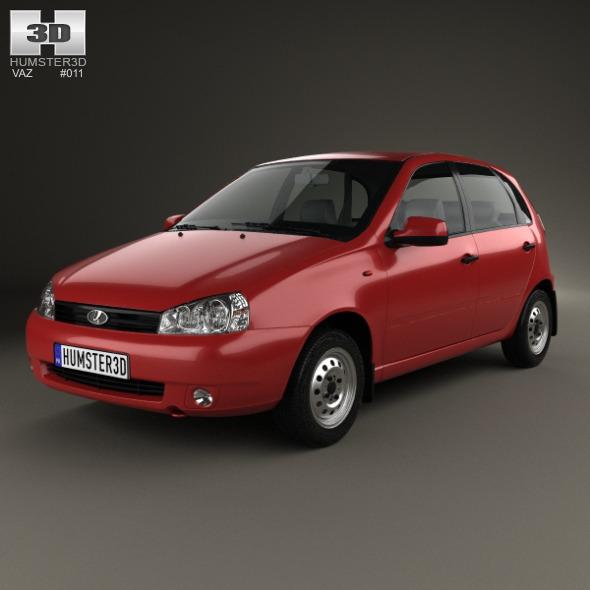 Lada Kalina (1119) hatchback 2011