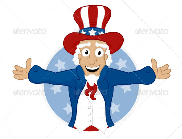 Uncle Sam - People Characters