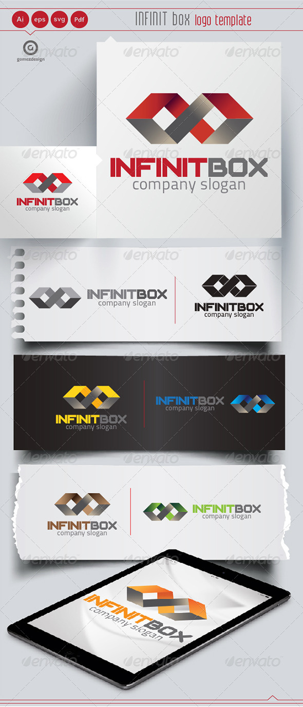 Infinit Box - Logo Templates