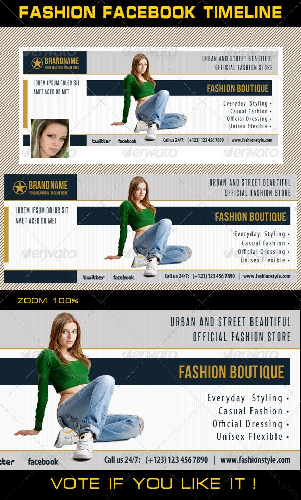 Fashion Facebook Timeline 09 - Facebook Timeline Covers Social Media