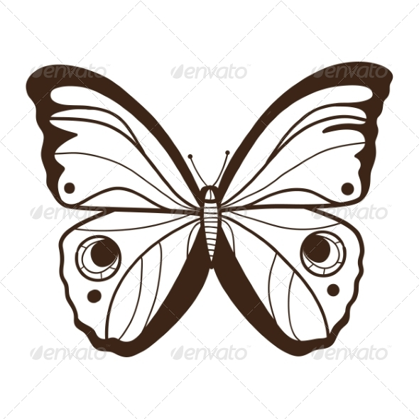 Abstract Graphic Butterfly - Miscellaneous Vectors