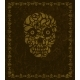 Background with Skull and Frame - GraphicRiver Item for Sale