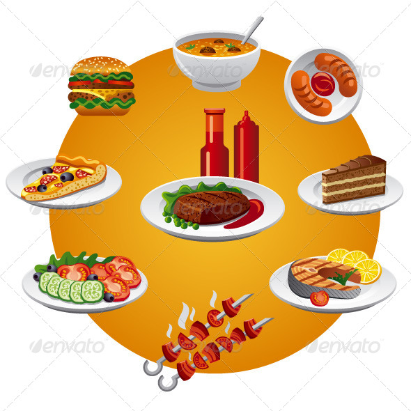 Food Icon - Vectors