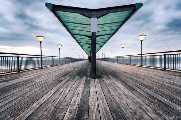 Boscombe Pier - Stock Photo - Images