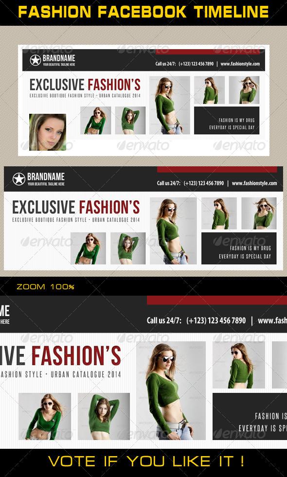 Fashion Facebook Timeline 10 - Facebook Timeline Covers Social Media