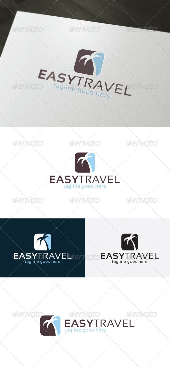 Easy Travel Logo - Nature Logo Templates