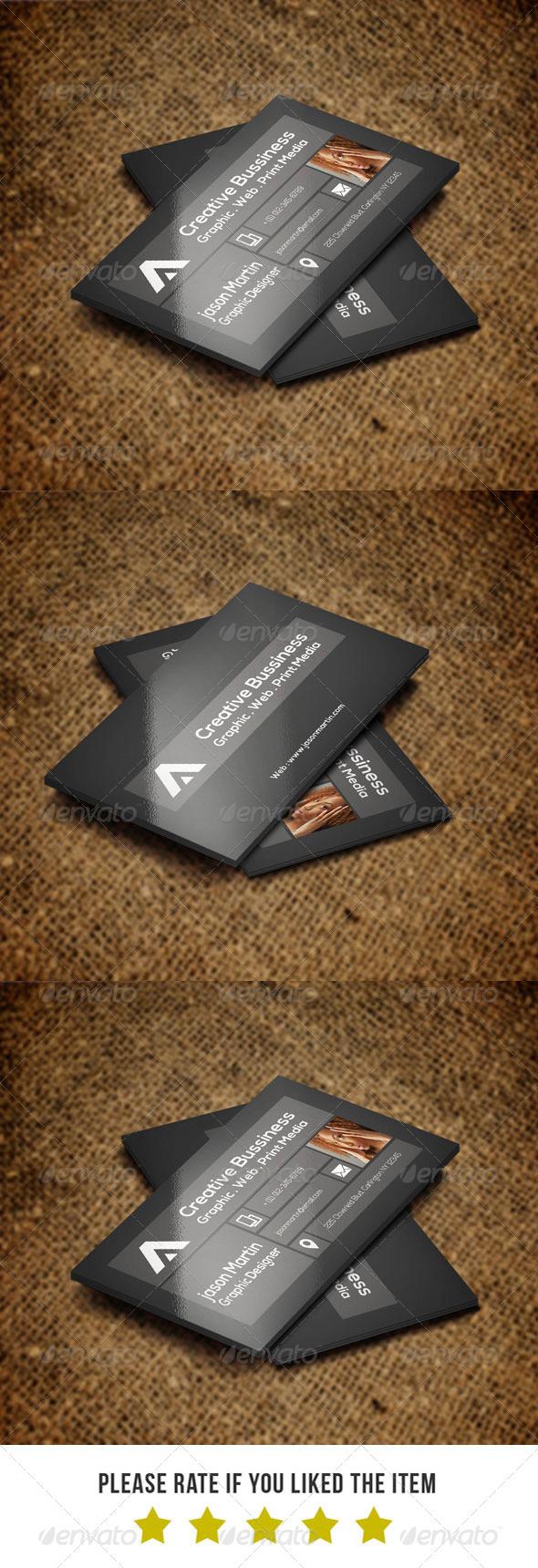 Corporate Business card V46 - Corporate Business Cards