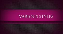 Various styles for Adobe Illustrator