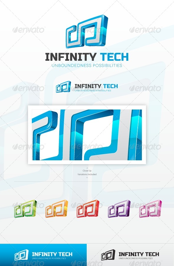 Infinitech Logo - Symbols Logo Templates