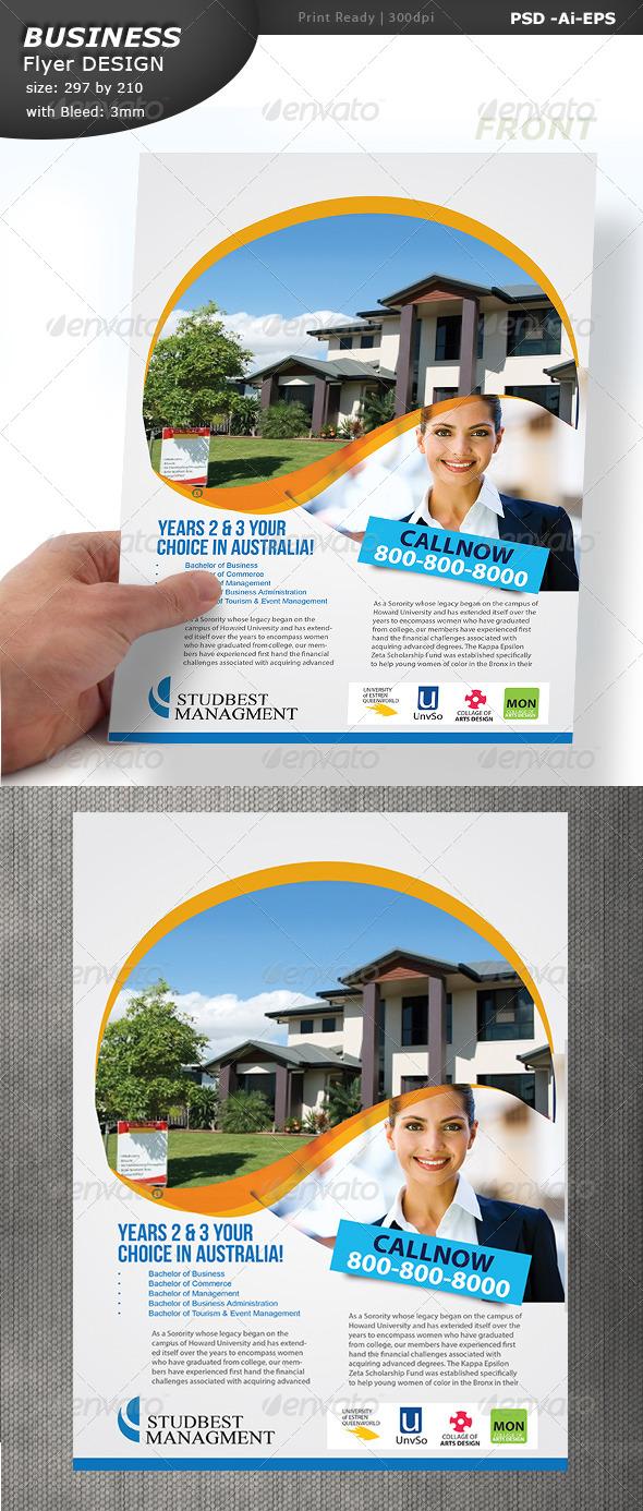 Real Estate Flyer Design  - Corporate Flyers