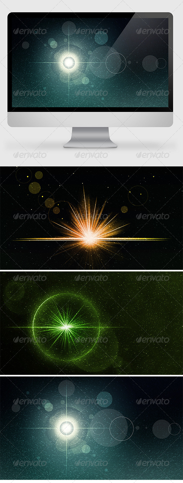 Epic Flare Backgrounds/Wallpapers - Abstract Backgrounds