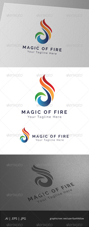 Magic of Fire Logo - Symbols Logo Templates