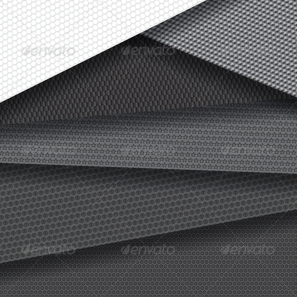 Background of Several Carbon Fiber Patterns - Backgrounds Decorative