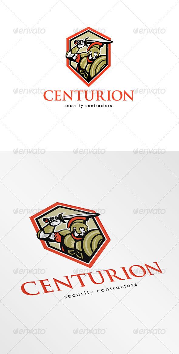 Centurion Security Contractors Logo - Humans Logo Templates