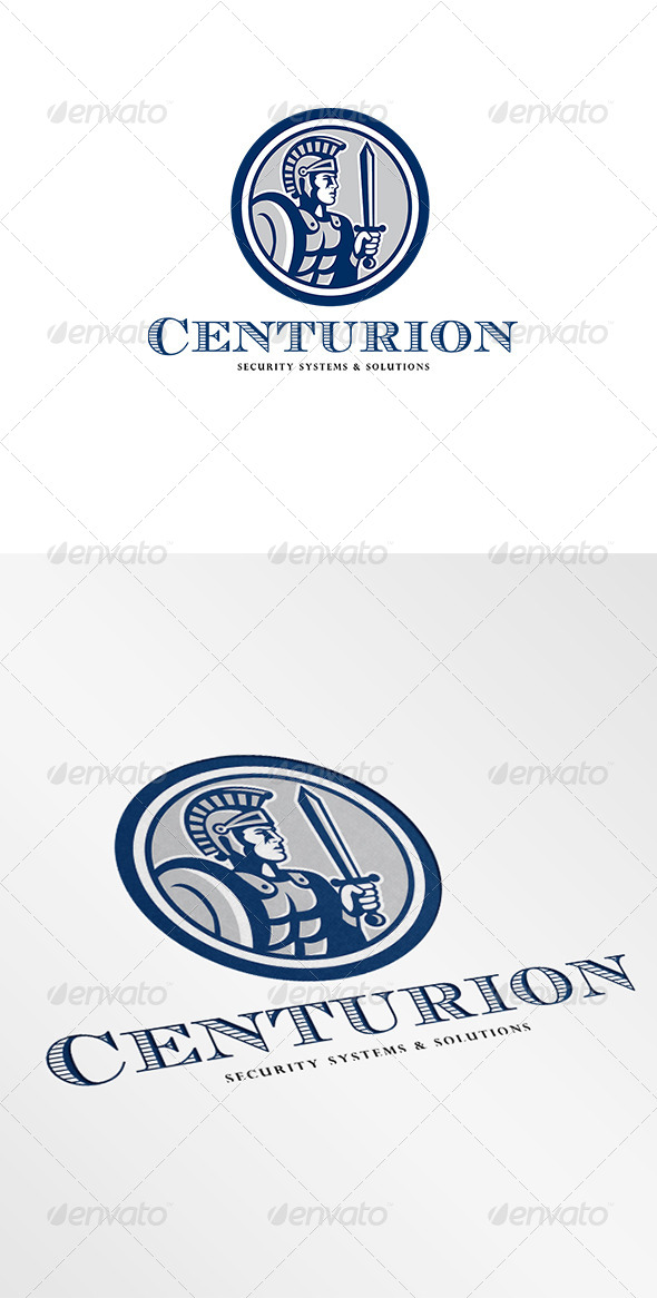 Centurion Security Systems and Solutions Logo - Humans Logo Templates