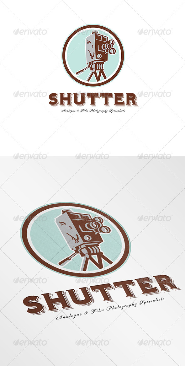 Shutter Film and Photography Specialist Logo - Objects Logo Templates