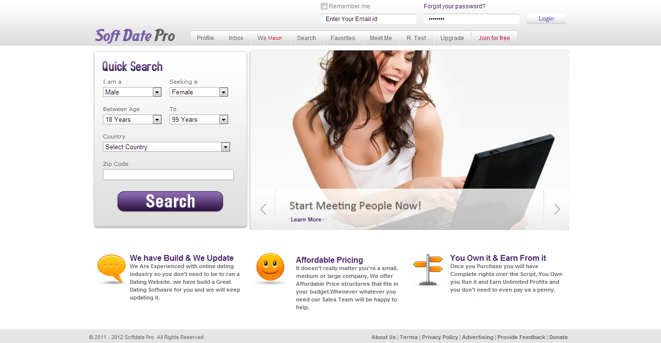 Efriends Social Networking Software  PHP Clone Script