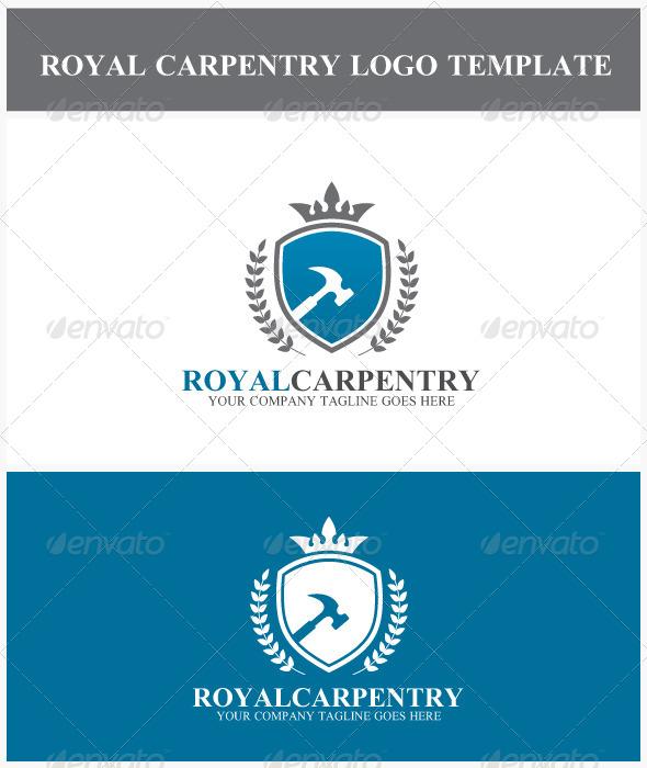 Royal Carpentry Logo - Crests Logo Templates