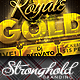 Download Royale Gold Ticket Party Flyer Template from GraphicRiver
