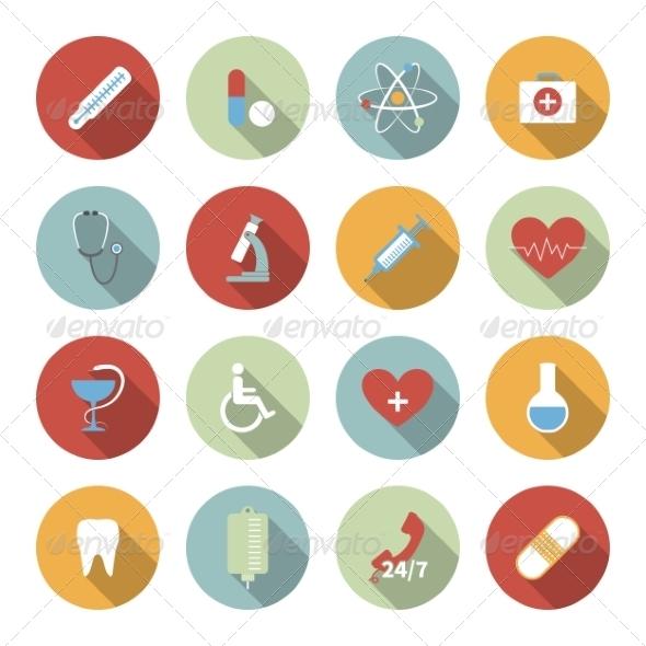 Medical Icons - Web Elements Vectors