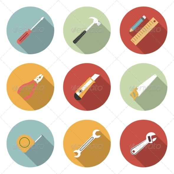 Tools Icon - Web Elements Vectors