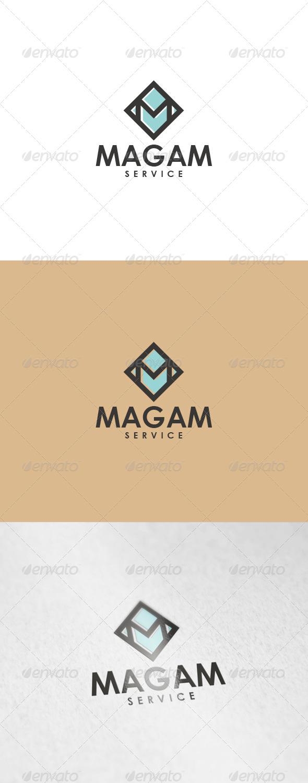 Magam Logo - Letters Logo Templates