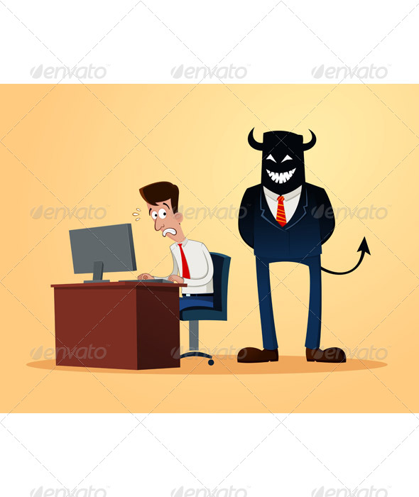 Scary Supervisor - Concepts Business