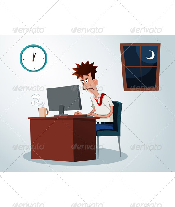 Working Overtime - Concepts Business