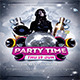 Party Time Flyers / Poster - GraphicRiver Item for Sale