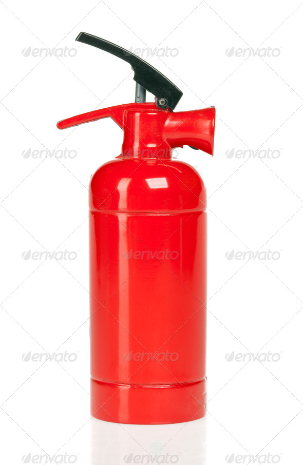 fire extinguisher - Stock Photo - Images