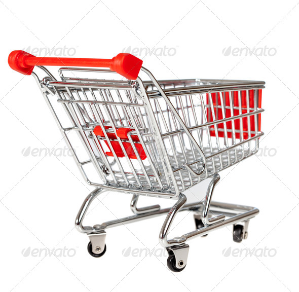 shopping cart - Stock Photo - Images