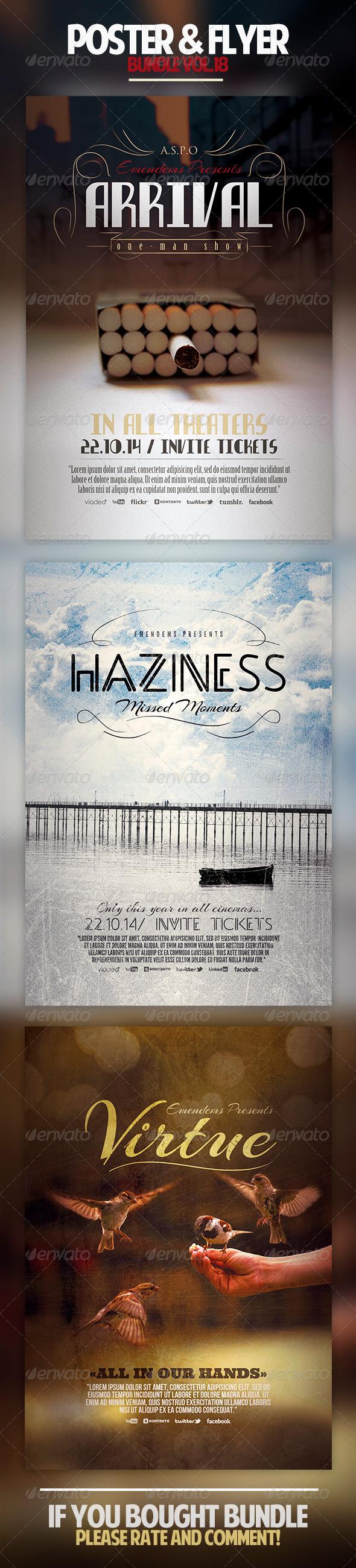 Poster & Flyer Bundle Vol.18 - Miscellaneous Events