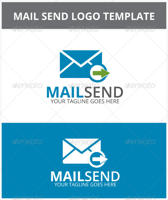 Mail Send Logo - Objects Logo Templates