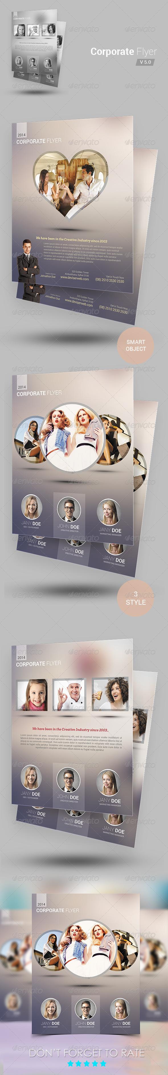Creative Modern Agency Flyer - Corporate Flyers